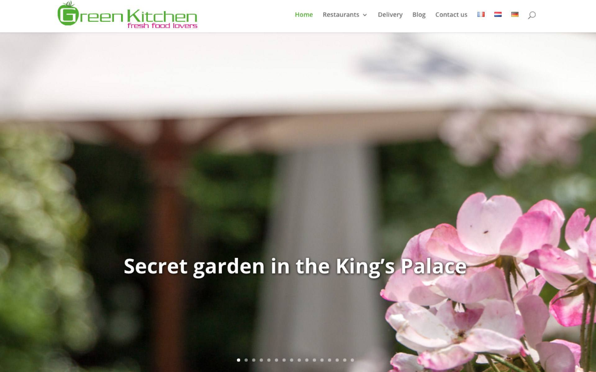 Green Kitchen Website